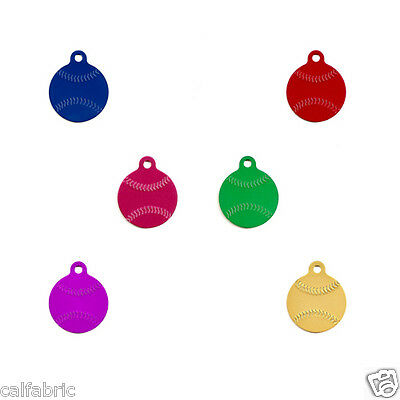 Baseball Free Engraved Dog Tags Cat Tags Pet ID Name Tags Plus Free Shipping