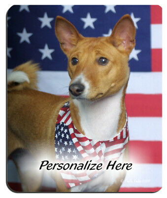 Basenji  brown  Personalized  Mouse Pad