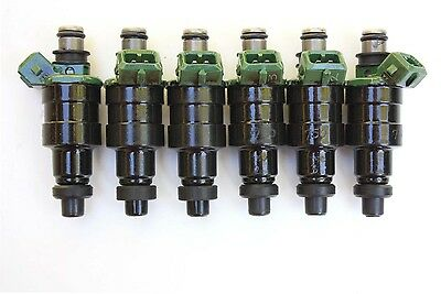 6 - 550cc 7MGTE MK3 MKIII Low Impedance Flow-Matched, Fuel Injectors, Direct Fit