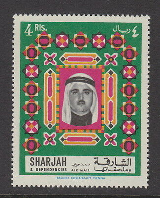 SHARJAH - 1968 4r. Air. Definitive (1v)  UM / MNH