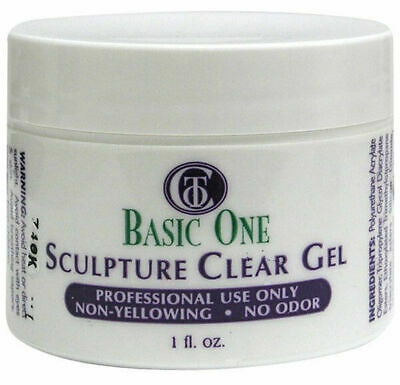 Christrio Basic One - Sculpture Clear Gel 1oz (3030SC)