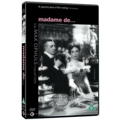 Madame De - DVD NEW & SEALED - The Max Ophuls Collection