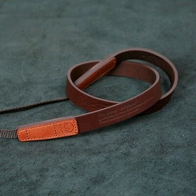 New Matin Brown Leather 20 mm Neck Strap Chic 20 for DSLR RF Mirrorless Camera