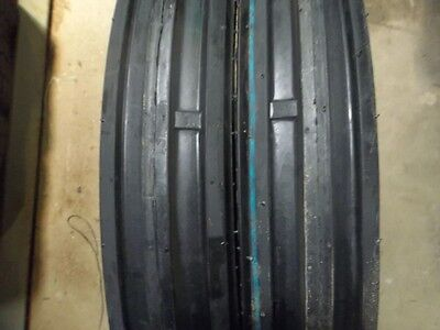 TWO 400X15, 400-15, 4.00X15, 4.00-15 YANMAR YM240 3 Rib Tractor Tires with Tubes