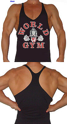 5ae4405fcf918e WORLD GYM TANK Top String Mens Gorilla logo vest - W301 -  18.95 ...