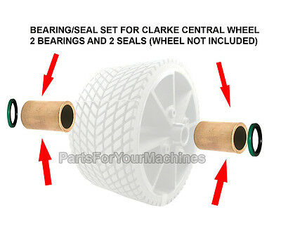 Drive Wheel Bearing/seal Kit For59944R Wheel,clarke Vision,leader, 58112A,51125A