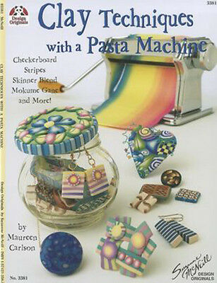 libro clay techniques whit a pasta machine