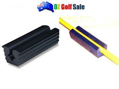New 1Pcs Golf Repair Regripping Reshafting Solid Rubber Shaft Vise Clamp