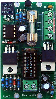 AD110-A10 LED DIMMER PWM 10 A.12VDC-24 VDC; POT. or 0-10V control