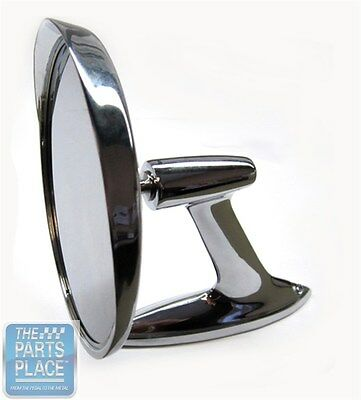 1961-62 Chevrolet Full Size Chrome Mirror With Assembly - Left or Right Hand
