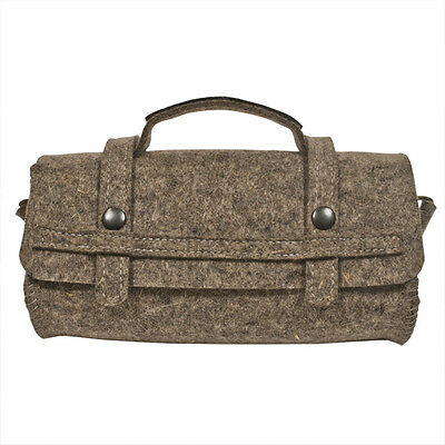 Riding Satchel - 10 X 4 Inch Grey, Black