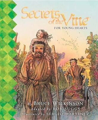 Book, HBDC Secrets of the Vine - for Young Hearts Bruce Wilkinson Rob Suggs @@!