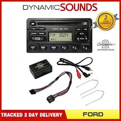 FORD Fiesta, Focus, Escort, Explorer KA MP3 iPod iPhone Aux In Adaptor CTVFOX001