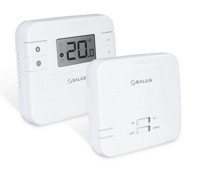 Salus Digital Electronic Room Thermostat Stat Rt300 Rf Bnib Wireless  !!!!