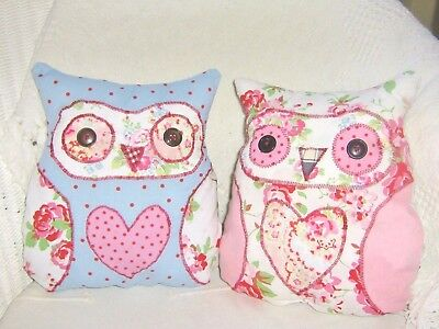 Owl Cushion Craft Kit Patchwork Sewing Easy Adult /& Childrens Craft Cushion Kit