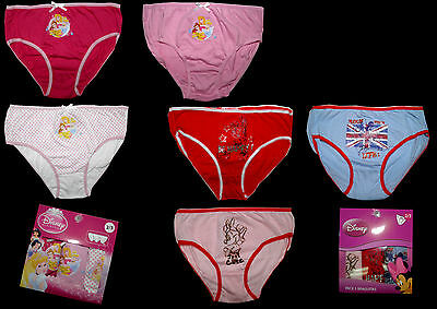 3er Pack Slips Unterhosen Minnie Disney Princess 92 98 104 110 116 122 128 NEU