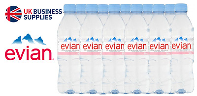 EVIAN NATURAL MINERAL STILL WATER 24x500ML