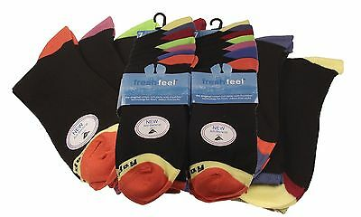 7 pairs Days of the Week Socks. Fresh Feel Cotton Rich Lycra Socks, Size 6-11