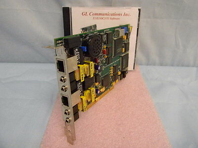 NEW GL Communications Dual Ultra HD E1 Analyzer PCI Card & HDE018 Software