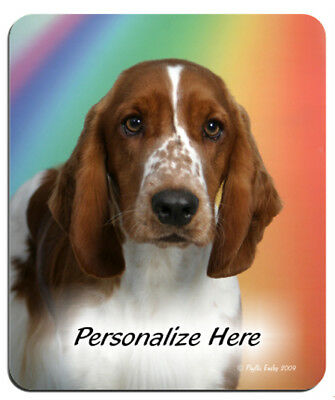 Welsh  Springer Spaniel  (10)    Personalized  MousePad