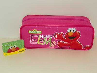 NWT Sesame Street Elmo Pencil Case Coin Purse Wallet Licensed Perfect Present #2
