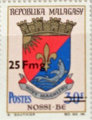 MADAGASCAR MALAGASY 1974 709 503 x2 Stadtwappen City Coat of Arms ovp Wappen MNH