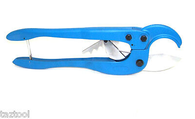 Large Pvc Plastic Pipe Cutter Ratcheting Type Cuts Up To 2-1/2""