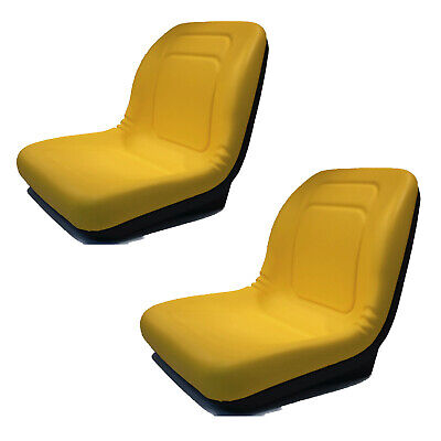 (2) HIGH BACK Seats for John Deere Gator Model E-Gator CS CX 4x4 Trail HPX TE