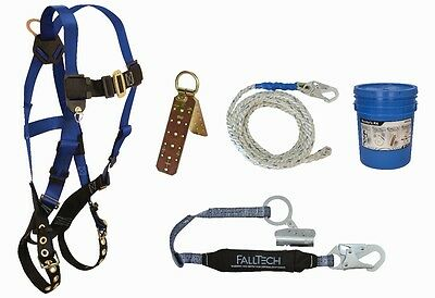 Falltech 8595A Fall Protection Professional Roofers Kit