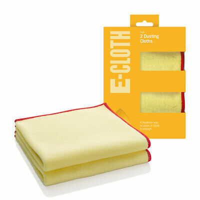 e-cloth Dusters Pack of 2 Their Natural Positive Charge Attracts & Locks in Dust