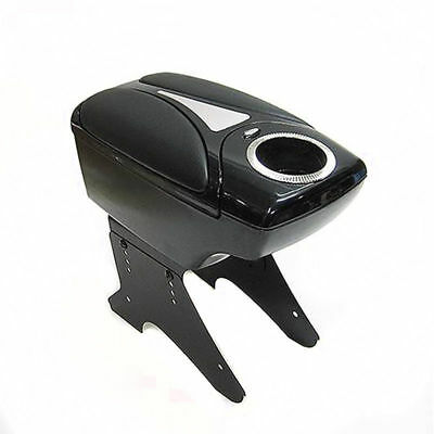 New Fits Vauxhall Astra Vectra Corsa Black Armrest Center Console