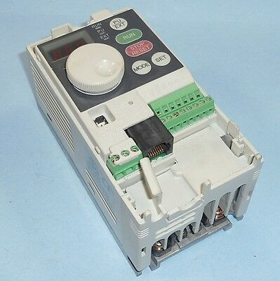 MITSUBISHI ELECTRIC FREQROL S500 0.2kW AC DRIVE FR-S520SE-0.2K *MISSING COVER*