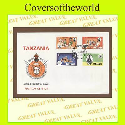 Tanzania 1979 Year of the Child set on First Day Cover