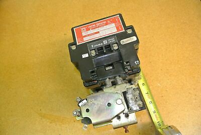 Square D 8903-S0011 Lighting Contactor 100Amp 600VAC With 110/120V 50/60Hz Coil