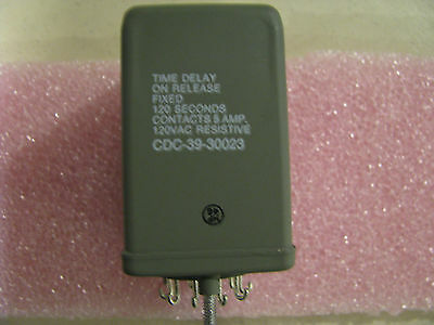 Potter & Brumfield Time Delay Relay  Part # Cdc-39-30023  Nsn: 5945-00-998-9034