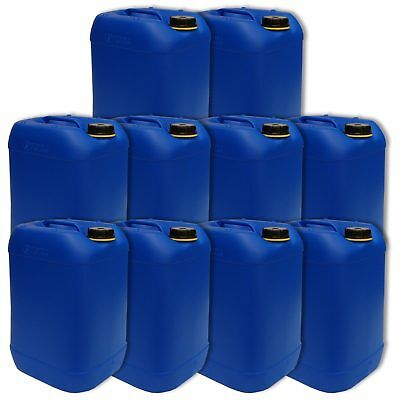 10 X 25 L Kanister blau 25 Liter Getränkekanister - Made in Germany (10x22248)