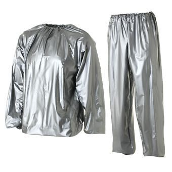 SAUNA SUIT Exercise Diet Training Running Jogging Fitness Boxing Walking NEW S M