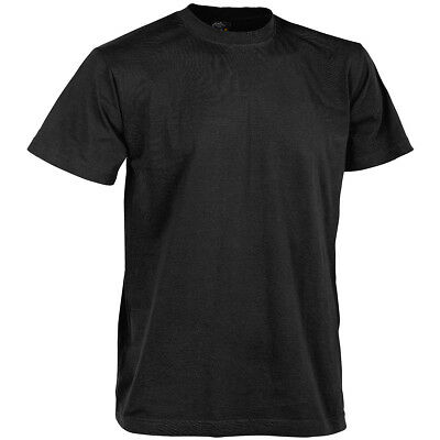 Helikon US Army Tactical Top Combat Security Mens T-Shirt Work Wear Cotton Black