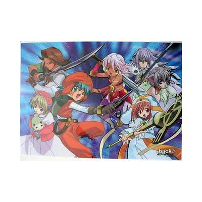 .Hack// Twilight Group Plastic Clear Poster Anime MINT