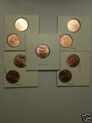 2011 Shield Lincoln Cents 2009 P D LP1 LP2 LP3 LP4 LP5 2010 Penny 1c Dollar BU