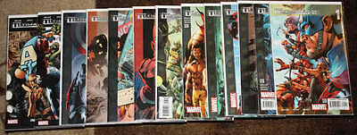 The Ultimates 2 COMPLETE SET #1-13 Milar Hitch