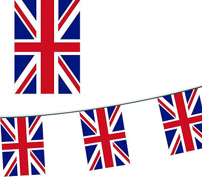 15m / 50ft UNION JACK BUNTING / BRITISH BUNTING ROYAL EVENTS ARMED FORCES DAY