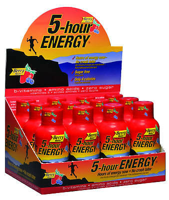5-Hour Energy Shot Berry Flavour 60 Bottles