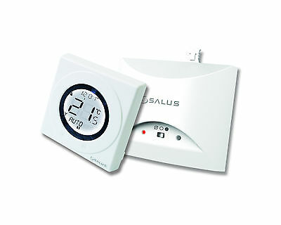 Salus ST620WBC Worcester Combi RF Wireless Room Stat Boiler Heating Control Plug