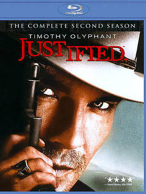 Justified: The Complete Second Season Blu-ray NEW SEALED