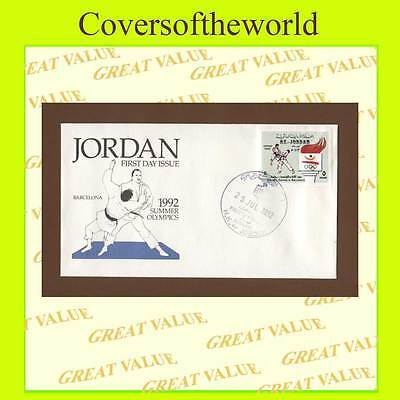 Jordan 1992 Barcelona Olympics Judo First Day Cover