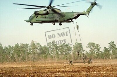 US AIR FORCE USAF MH-53H Pave Low III helicopter 8X12 PHOTOGRAPH