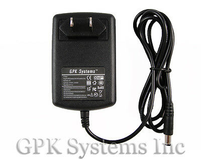AC Power Adapter for WD Western Digital Wdbaau0010hbk-01 Hard Drive Power Supply