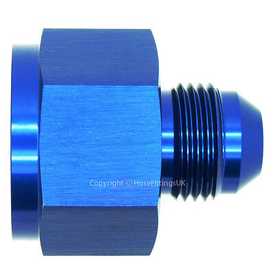 AN-12 FEMALE to AN-10 MALE JIC REDUCER/EXPANDER Hose Fitting Adapter