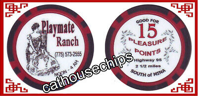 Playmate Ranch  Mina, Nevada, Brothel Collectors Chip